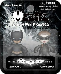 Dark Knight Rises 2 Inch Mezitz 2 paks Batman/Catwoman