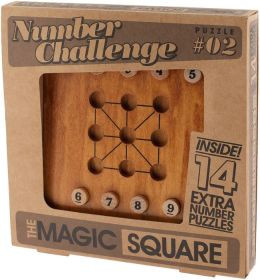 Number Puzzle Magic Square