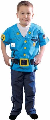 My First Career Gear - Police Toddler Costume: Toddler 3/5