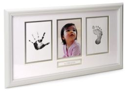 Babyprints White Photo Wall Frame 18.3'