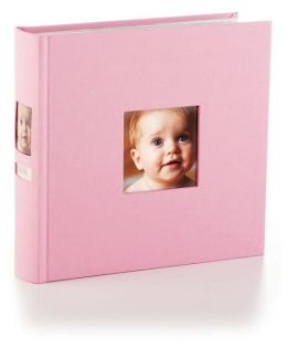 Pink Cloth Side Photo Album 9X9