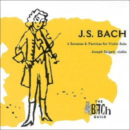 J.S. Bach: 6 Sonatas & Partitas for Violin Solo