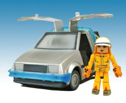 Back To The Future Minimates Time Machine