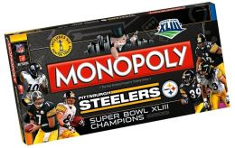 PITTSBURG-Super Bowl XLIII Monopoly Steelers
