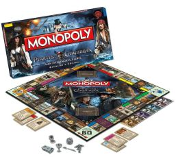 Monopoly: Pirates of the Caribbean On Stranger's Tides Collector's Edition