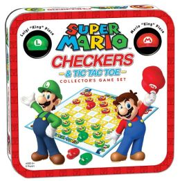 Super Mario Checkers & Tic Tac Toe Collector's Edition