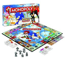 Sonic The Hedgehog Collector's Edition Monopoly