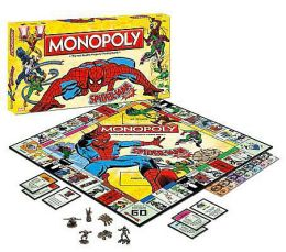 Spiderman Collector's Edition Monopoly