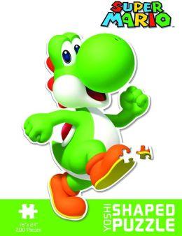 Nintendo: Yoshi Shaped 200 Piece Puzzle
