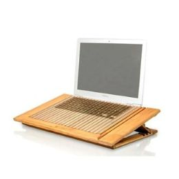 Bamboo Adjustable Cool Stand