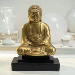 Gilded Ascendent Buddha Bookend - 1 piece