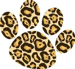 Ashley Productions ASH10217 Magnet Clips Cheetah