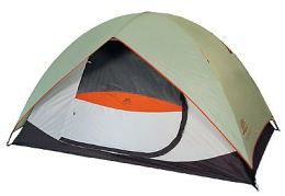 Alps Mountaineering 5521639 Meramac 5 Person Sage-Rust Camping Tent