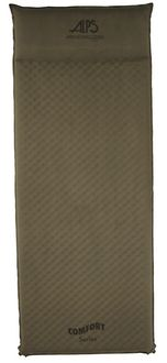 Alps Mountaineering 7350003 Comfort Series Air Pad - XL self-inflating air pad- Moss