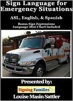 Sign Language for Emergency Situations