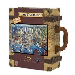 SAN FRANCISCO- Dowdle Luggage 1000 pc Jigsaw Puzzle