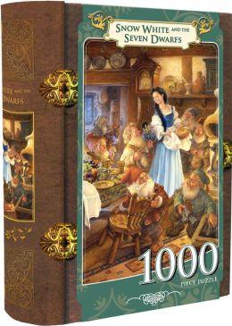 Snow White and the Seven Dwarfs - Book Box Puzzle