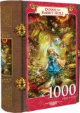 Product Image. Title: Down the Rabbit Hole - Book Box Puzzle