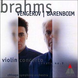 Brahms: Violin Concerto, Violin Sonata No. 3