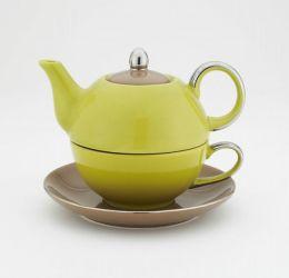 Siena Green & Brown Tea for One, 14 oz