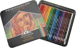 Prismacolor Premier Colored Pencil Set 48/Tin-W/Two Bonus Artstix