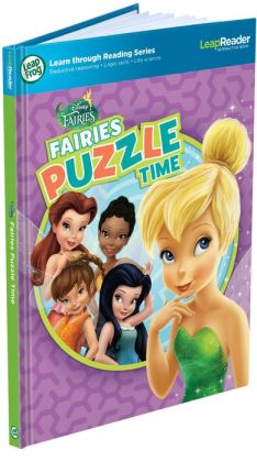 LeapFrog LeapReader Book: Disney Fairies Puzzle Time (works with Tag)