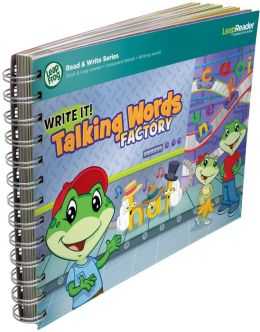 LeapFrog LeapReader Book: Write it! Talking Words Factory