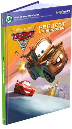 LeapFrog  LeapReader Book: Disney Pixar Cars 2: Project Undercover (works with Tag)
