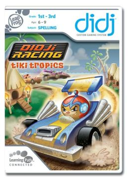 LeapFrog Didj Custom Learning Game Didj Racing - Tiki Tropics
