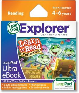 LeapFrog® LeapPad Ultra eBook Learn to Read Collection: Adventure Stories