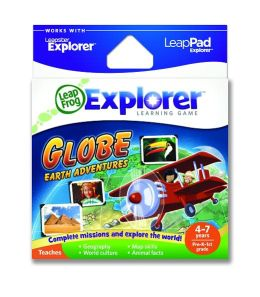 LeapFrog® Explorer™ Learning Game: Globe: Earth Adventures™