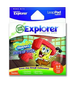 LeapFrog® Explorer™ Learning Game: SpongeBob SquarePants Fists of Foam
