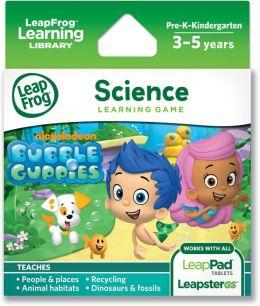 LeapFrogExplorerLearning Game: Nickelodeon Bubble Guppies