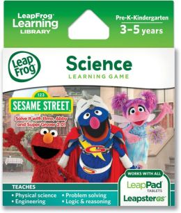 LeapFrogExplorerLearning Game: Sesame Street: Solve It with Elmo, Abby & Super Grover 2.0!