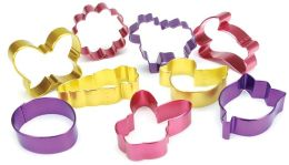 Metal Cookie Cutters 9/Pkg-Easter