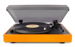 Advance Stereo USB Turntable- Orange
