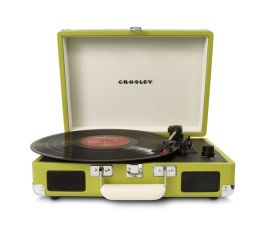 Cruiser Portable Turntable- Green