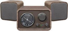 Trio Bluetooth Shelf System - Brown
