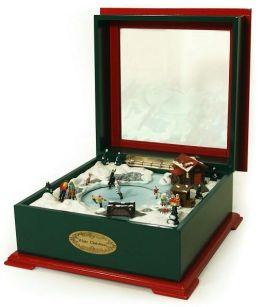 White Christmas Music Box