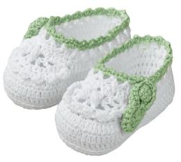 Lillian Rose 24BO800 SW Sweet Pea Booties - Pack of 2