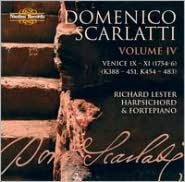 Domenico Scarlatti: The Complete Sonatas, Vol. 4 - Venice IX-XI