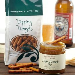 Stonewall Kitchen Pretzel Grab & Go Gift Set