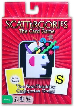 Scattergories The Cards Game