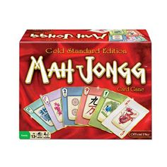Mah Jongg Gold Standard Edition Card Game