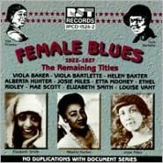 Female Blues: Remaining Titles 1922-1927