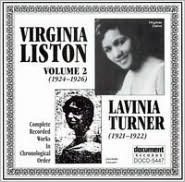 Virginia Liston, Vol. 2: 1924-1926