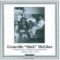 "Granville ""Sticks"" McGhee, Vol. 1: 1947–1951"