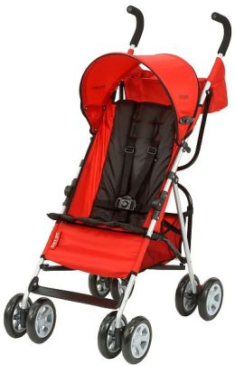 Tomy International, Inc First Years Jet Elegance Stroller, Red & Black