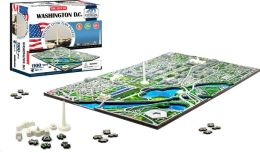4D Washington DC  Skyline Time Puzzle