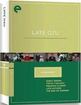 Late Ozu